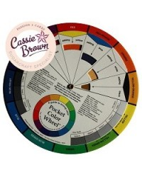 image: Colour wheel Helps with mixing colours for icing & airbrush