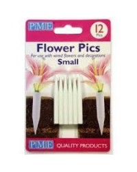 image: PME flower posy picks for feathers or wires 12pk small
