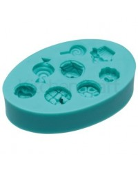 image: Sweets or candy shapes silicone mould