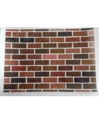 image: Wafer paper sheet Brick wall