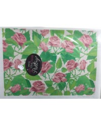 image: Wafer paper sheet Long stem Roses