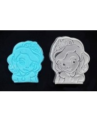 image: Sofia the first cutter embossing plunger stamp