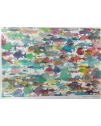 image: Wafer paper sheet Rainbow fish