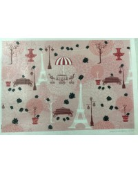 image: Wafer paper sheet Stacey's Parisian Dream Paris Eiffel Tower