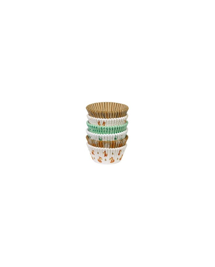 image: Woodland Animals cupcake papers Value Pack (150)