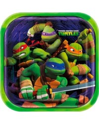 image: Teenage Mutant Ninja Turtles party plates (8)