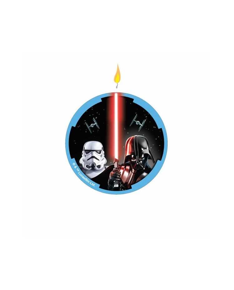 image: Star Wars classic flat candle