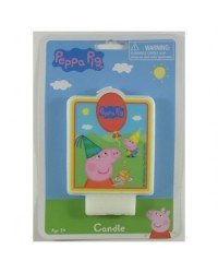 image: Peppa Pig party candle