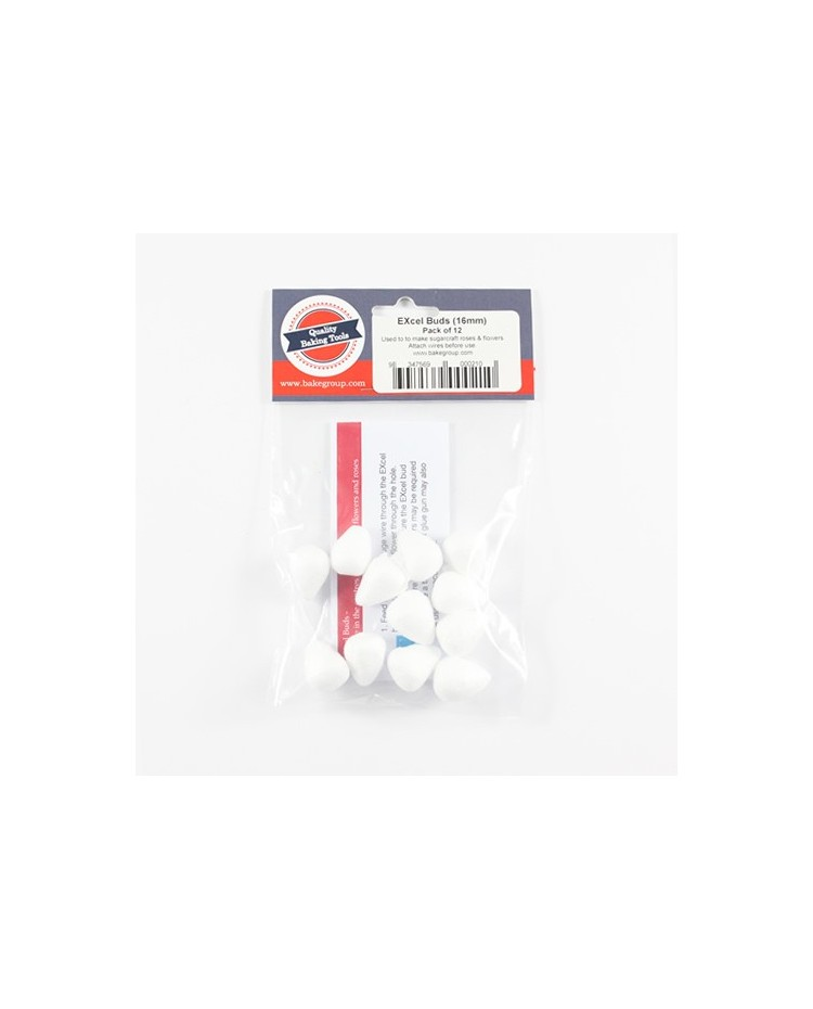 image: Excel Buds 16mm (12 Pack) Poly foam buds