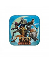 image: Star Wars Rebels party plates (8) dinner size