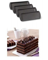 image: Easy layers rectangle loaf pan set