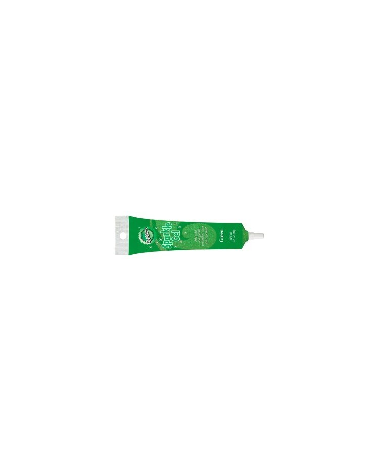 image: Sparkle gel piping icing gel Green