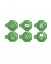 image: Star Wars stencil cupcake decorating set