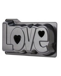 image: LOVE Valentines Day cake pan