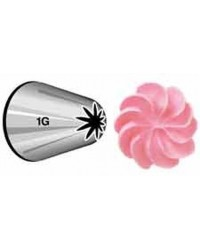 image: Large Wilton icing nozzle tip #1G