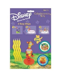 image: Tigger & Winnie the Pooh cake decorating kit with candles