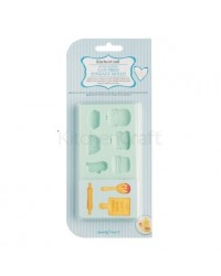 image: Sweetly Does it Home Baking silicone mould (tea party)