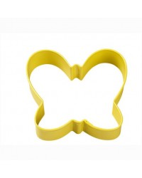 image: Butterfly Yellow metal cookie cutter