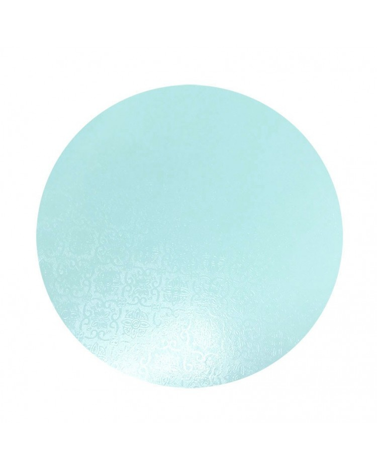 image: Blue masonite cake board 11 inch round