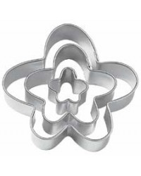 image: Funny Flower Cut-Outs cutter set