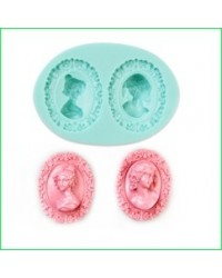 image: 3d detailed deep cameos silicone mould