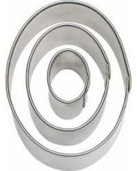image: Oval Cut-Outs cutter set