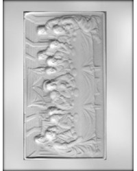 image: Last supper plaque chocolate mould