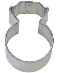 image: Mini wedding ring cookie cutter