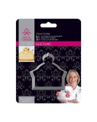 image: LVCC Stainless steel Crown Cookie Cutter