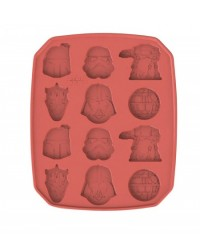 image: Star Wars villains silicone chocolate mould