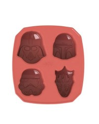 image: Star Wars Villians silicone cake pan mould