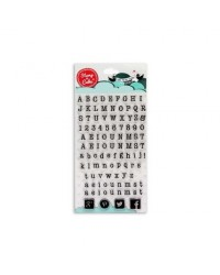 image: Stamp a Cake Type alphabet Stamp Set