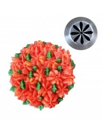image: Large flower icing tip Dahlia (Russian Style)