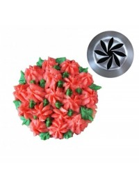 image: Large flower icing tip Flower Swirl (Russian Style)