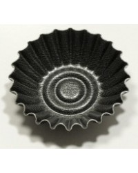 image: Set 6 non stick fluted pans 7 x 2cm by Vespa of Italy