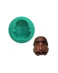 image: Star Wars Stormtrooper Mask silicone mould