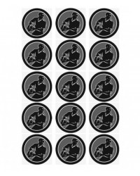 image: Cupcake edible images (15) Black Rugby Players