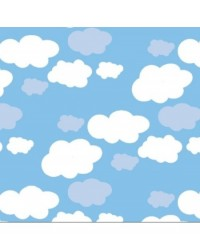 image: Chocolate transfer sheet Clouds