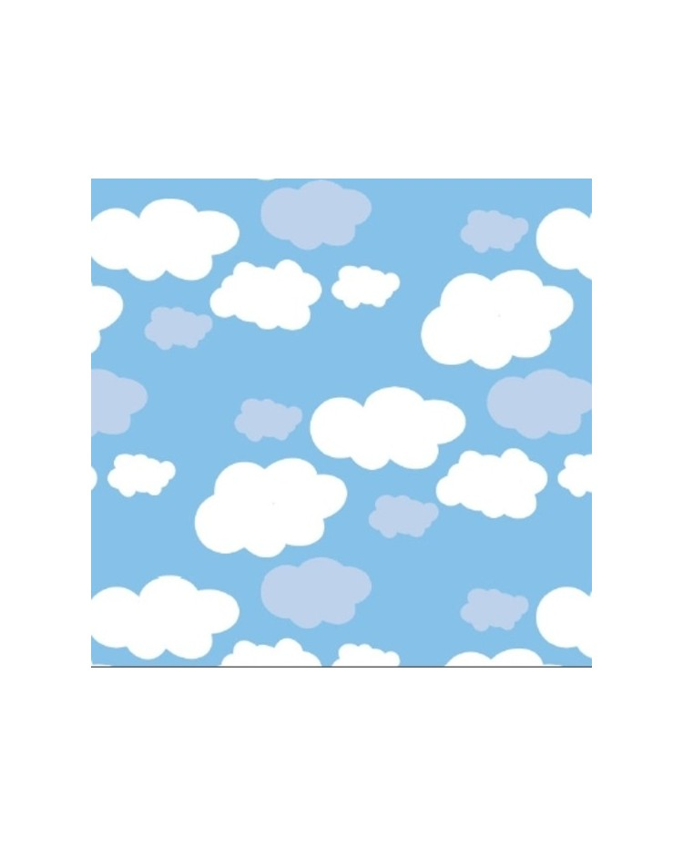 Chocolate Transfer Sheet Clouds
