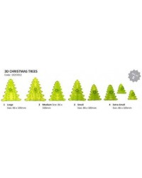 image: Jem 3d Christmas tree cutters set 8