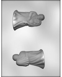 "image: Bride & Groom 4"" 3d chocolate mould"
