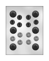 image: Fancy Rounds thin mint assorted chocolate mould