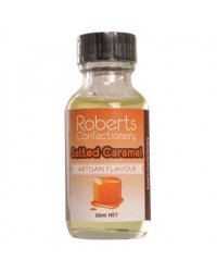 image: 25ml Salted Caramel Flavouring Roberts Confectionery