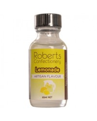 image: 25ml Lemonade (natural) Flavouring Roberts Confectionery