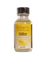 image: 25ml Butter Flavouring Roberts Confectionery