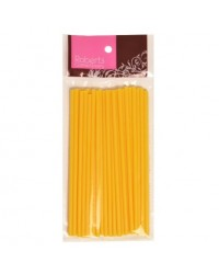 image: 6 inch Yellow lollipop sticks (25)