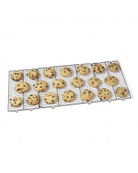 image: Cooling rack expand to large size folds up small for storage