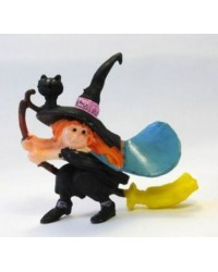 image: Halloween Witch 2''/5cm cake or cupcake topper