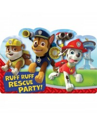 image: Paw Patrol party invites invitations (8)