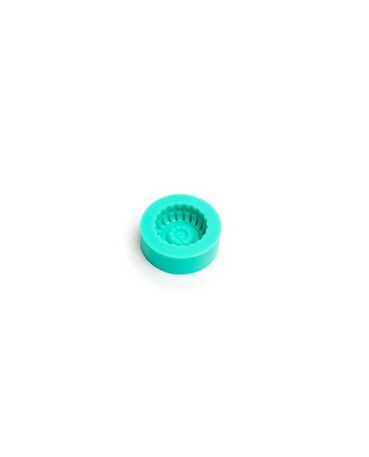 image: Tyre or wheel silicone mould 4.5cm
